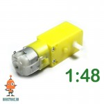 Мотор редуктор пластиковый D 1:48