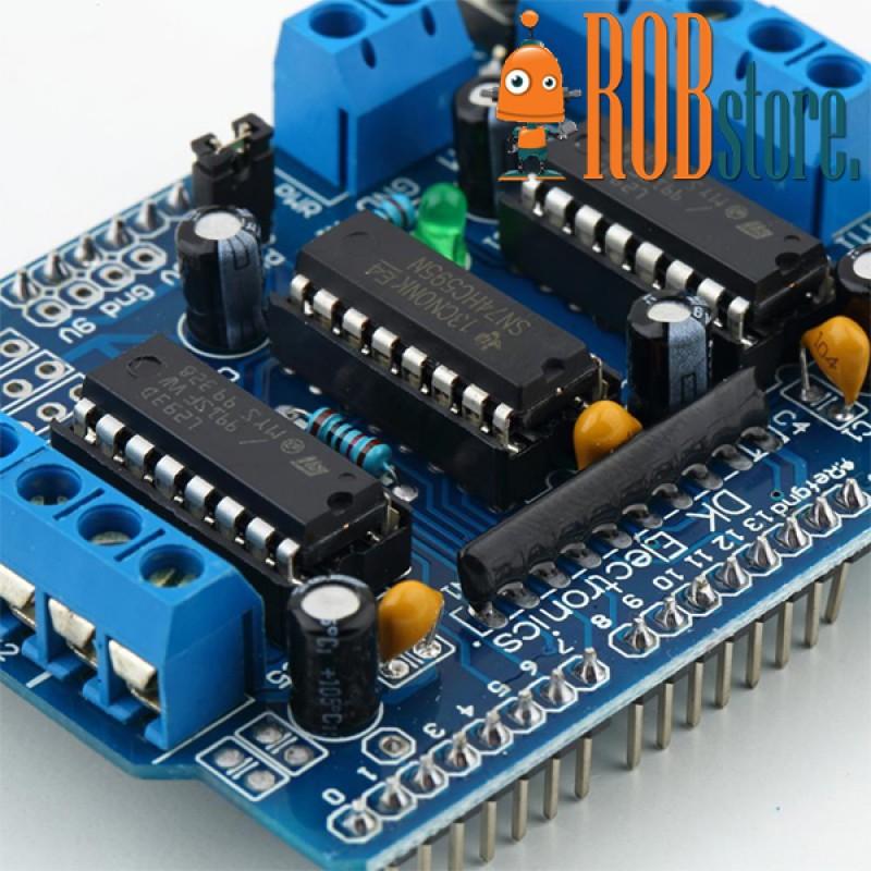 Модуль управления двигателями Arduino L293D