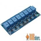 Реле модуль для Arduino. 8-ми канальный  5В.