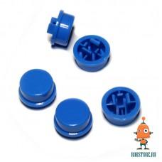 Круглый колпачок на кнопку Синий