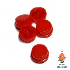 Круглый колпачок на кнопку Красный