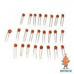 Комплект керамических конденсаторов