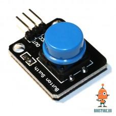 Датчик кнопка синяя