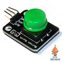 Датчик кнопка зелёная