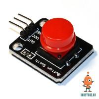 Датчик кнопка красная