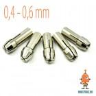 Цанговый патрон для гравера 0.5 мм