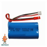 Аккумулятор Li ion 7.4V 2000mAh 20С