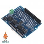 Серво-шилд Arduino на 16 каналов