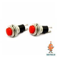 Кнопка красная без фиксации DS-316