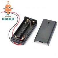 Батарейный отсек 2 AA с крышкой