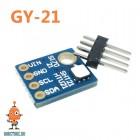 Датчик влажности и температуры GY-21 SI7021