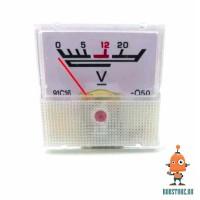 Вольтметр аналоговый 12V