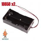 Батарейный блок 18650/2хLi-ion