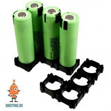 Модульный крепеж для аккумулятора 18650