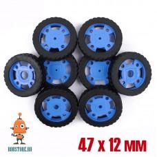 Колесо 47х12мм синее
