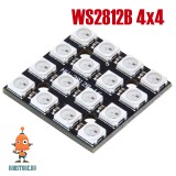 Матрица светодиодная WS2812B 4x4