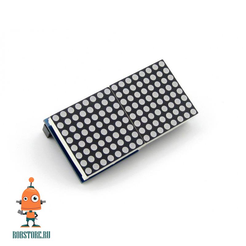 Модуль LED матрица 8x16 красная