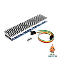 Модуль LED матрица 8x32 красная