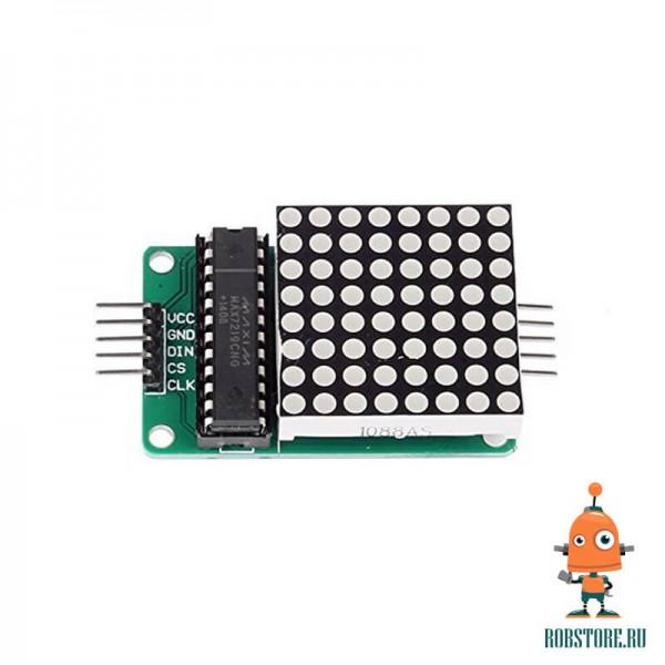 Модуль LED матрица 8x8 красная