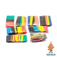 Комплект термоусадок разноцветных 328 шт.
