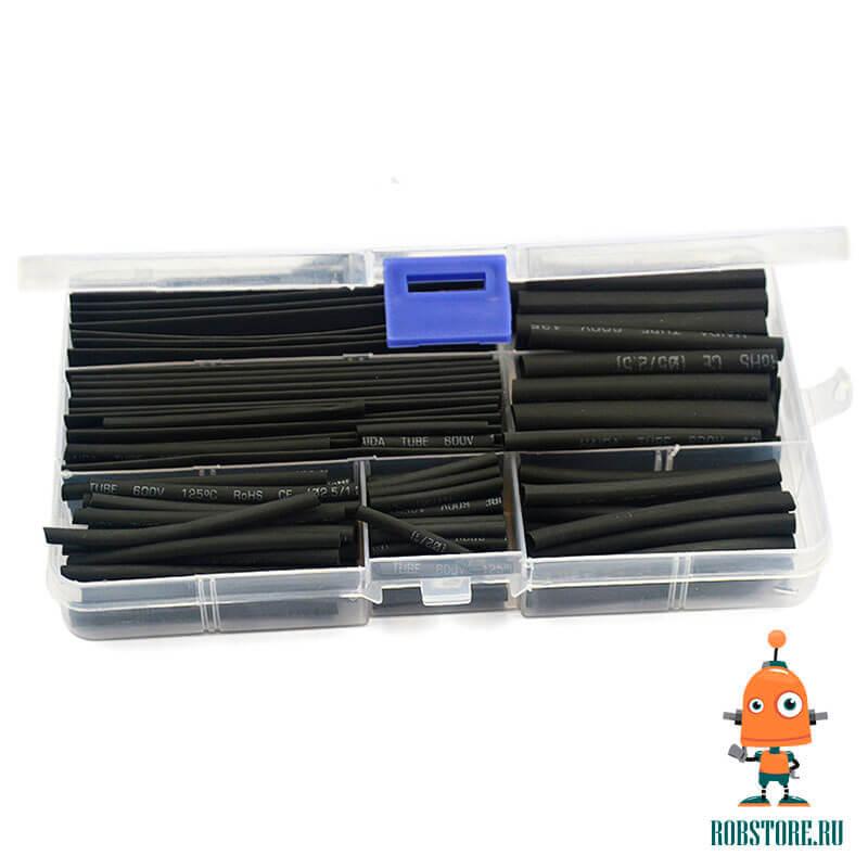 Комплект термоусадок черных 150 шт.