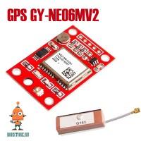 GPS модуль GY-NEO6MV2 с антенной