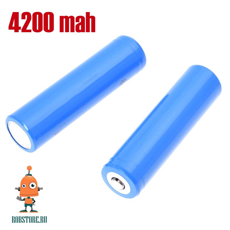 Аккумулятор Li-Ion 3,7V 4200mAh