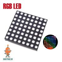 Светодиодная RGB LED матрица 8х8 (60×60мм)