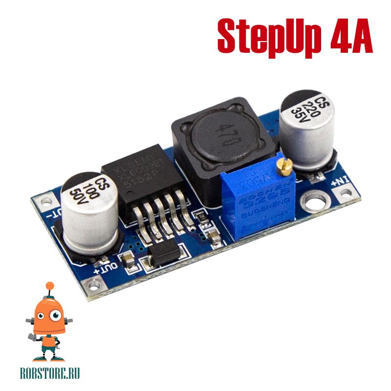Повышающий модуль DC-DC LXL6009 StepUp 4А