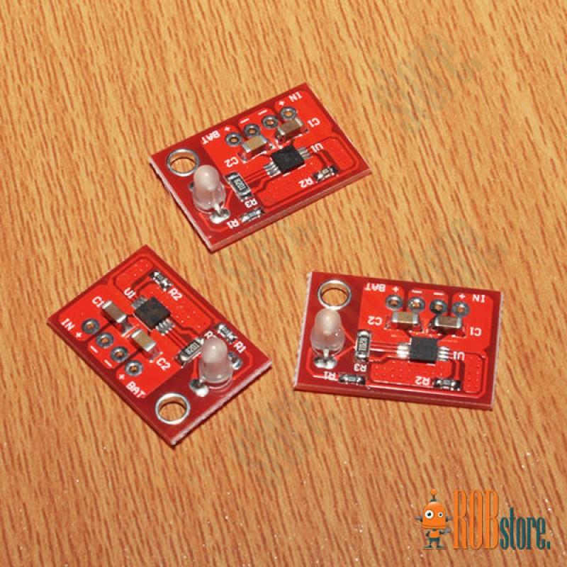 Солнечное зарядное для Li-ion батарей