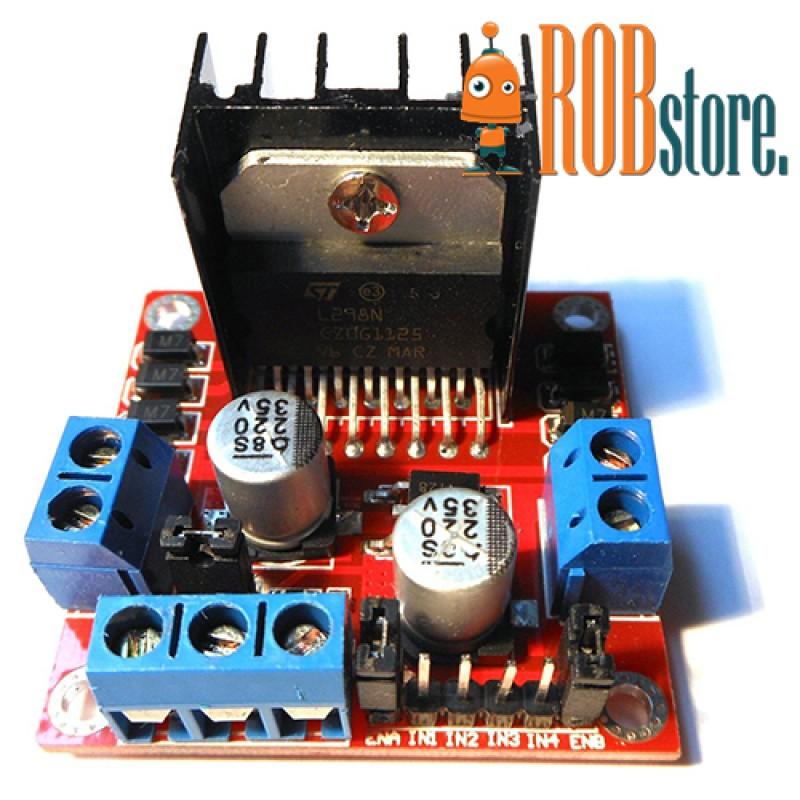 Модуль управления двигателями L298N