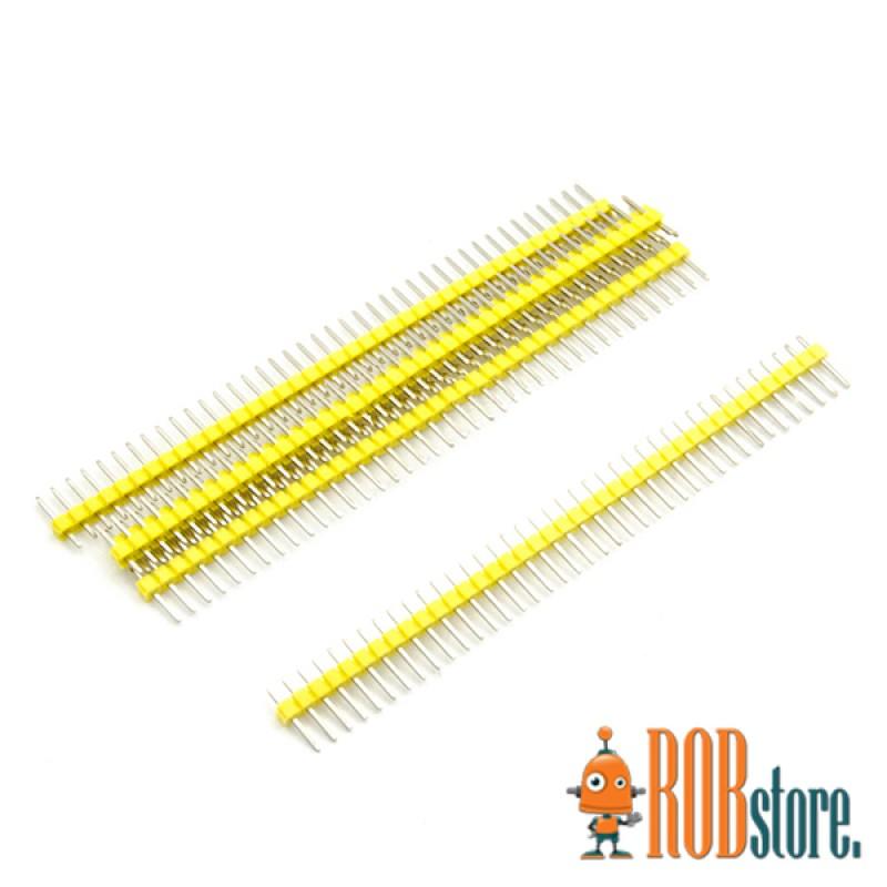 Жёлтый штыревой соединитель 40pin, 1 Шт.