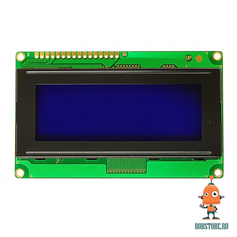 LCD 2004 Синий