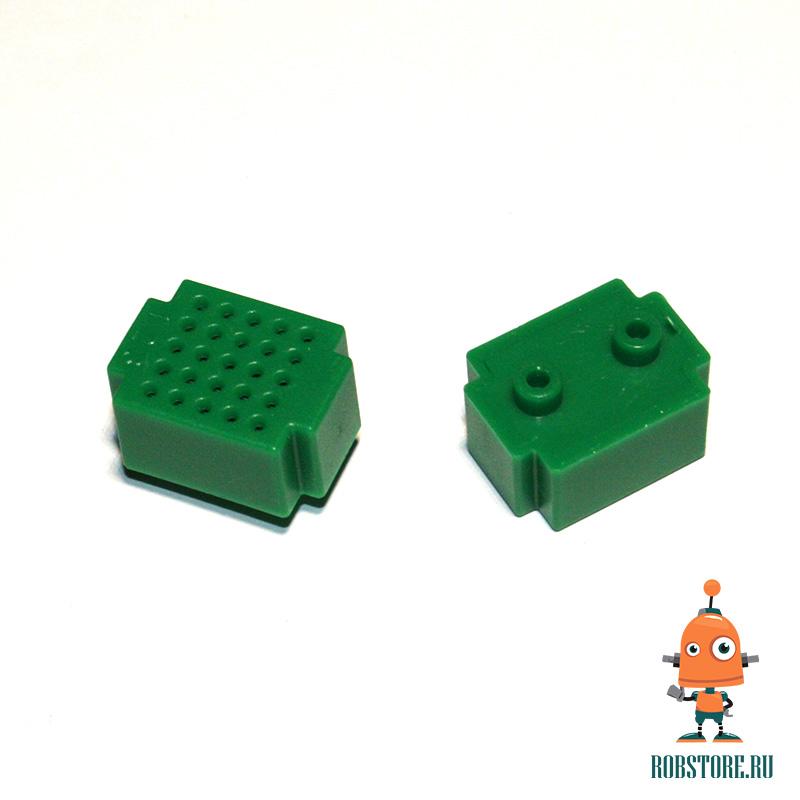 Макетная плата на 25 точек (зеленая)