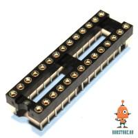 Цанговая монтажная панель DIP28