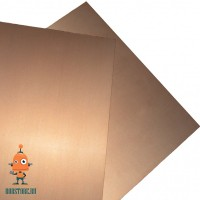 Стеклотекстолит FR4 7х10см двухсторонний