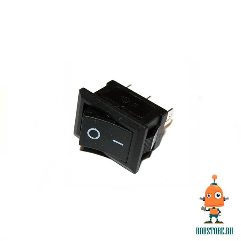 Выключатель ВКЛ/ВЫКЛ KCD11-101 Черный