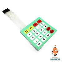 Эластичная клавиатура 4x5 (20 кнопок)