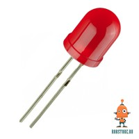Светодиод 10мм Красный