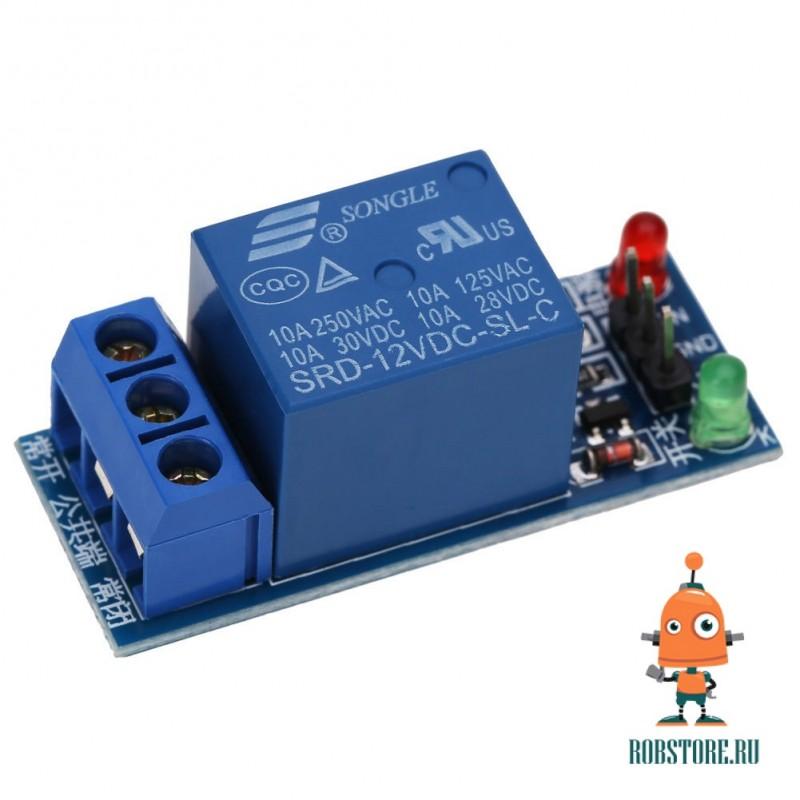 Реле модуль для Arduino. 1 - канал 12В.