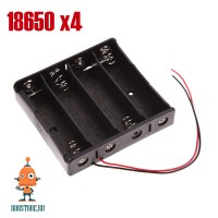 Батарейный блок 18650/4хLi-ion