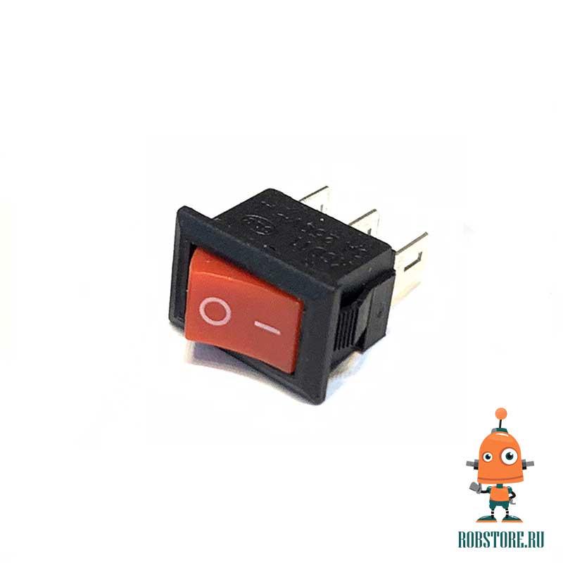 Выключатель ВКЛ/ВЫКЛ KCD11-101 Красный