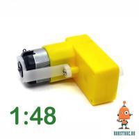 Мотор редуктор пластиковый угловой D 1:48