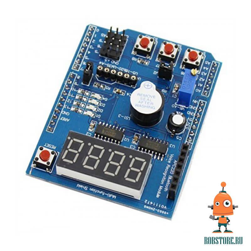 Обучающий шилд для Arduino